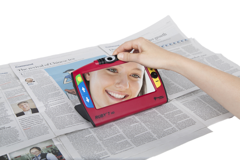 RUBY® 7 HD Handheld Video Magnifier