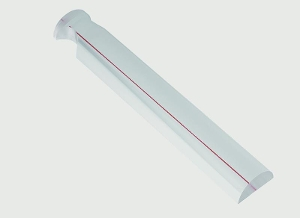 Schweizer Bar Magnifiers 220 x 35mm 1.75x 3dpt red guiding line